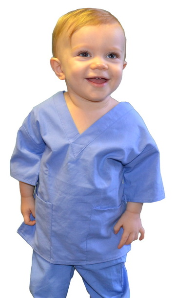 Toddler Scrubs Ceil Blue