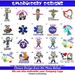 Toddler Scrubs Embroidery Designs